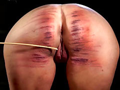 Caning till bruises