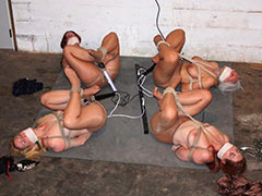 Group torture of slaves