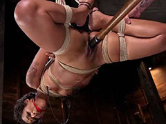 Bondage casting of amateur girl